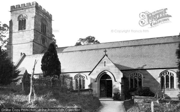 Photo of Whitford, Church Of St Mary And St Beurno c.1935