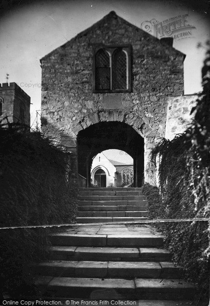 Photo of Whitford, Lychgate c.1935