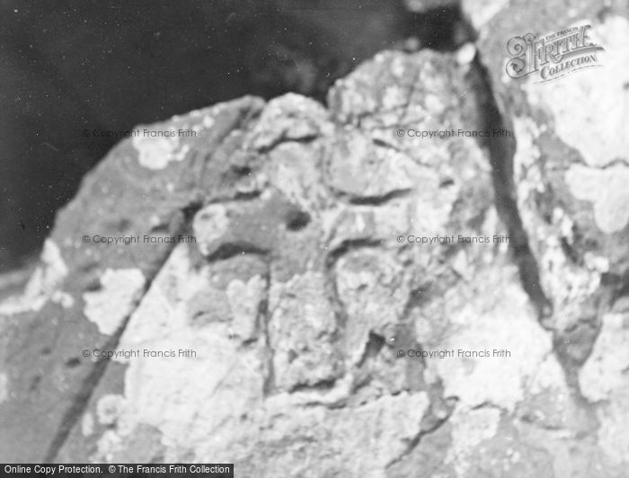 Photo of Whithorn, St Ninian's Cave At Physgyll   Incised Cross 1958