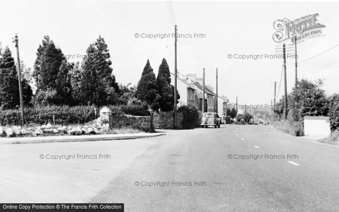 Photo of Whitland, Carmarthen Road c.1965