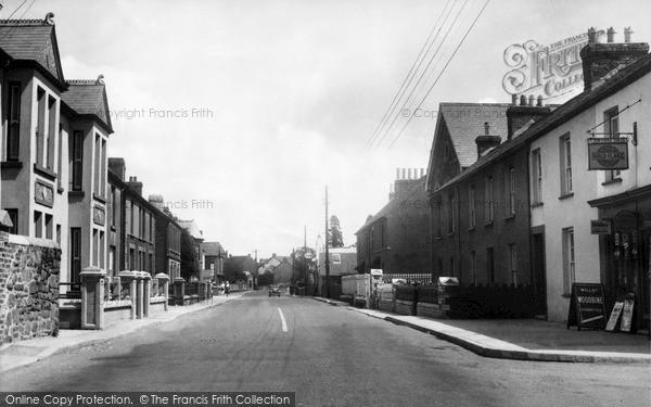 Photo of Whitland, Market Street c.1956