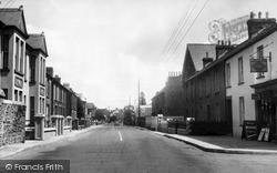 Whitland, Market Street c.1956
