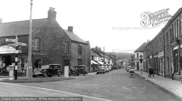 Photo of Whitland, St John Street 1954