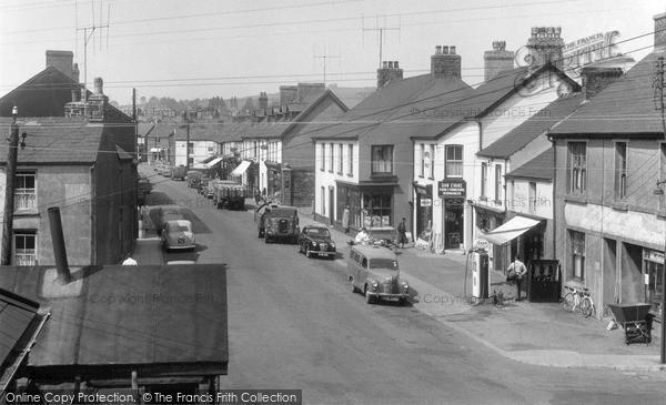 Photo of Whitland, St John Street 1956
