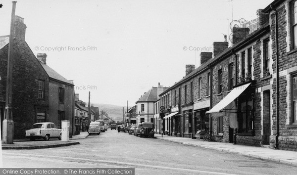 Photo of Whitland, St John Street c.1965
