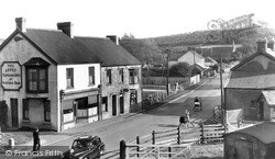 Station Road c.1955, Whitland