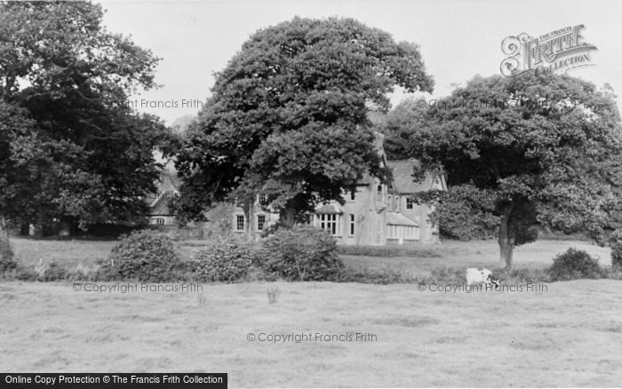 Photo of Whitland, The Abbey c.1955