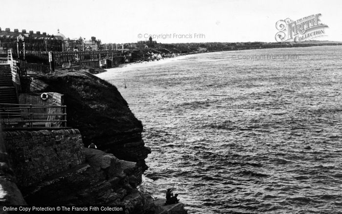 Photo of Whitley Bay, High Tide c.1955