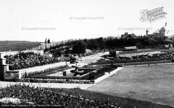 Photo of Whitley Bay, Panama Gardens c.1955