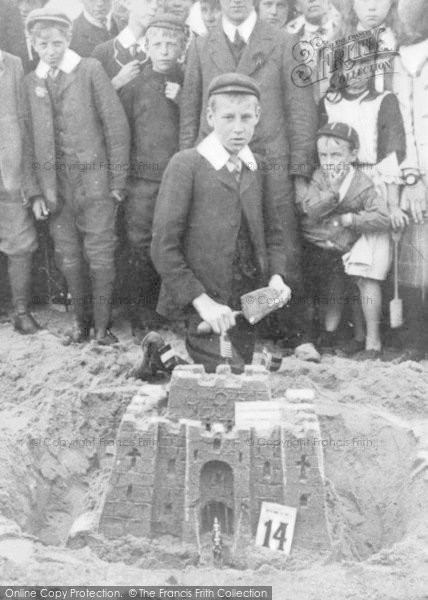 Photo of Whitley Bay, Sandcastle Competion 1908