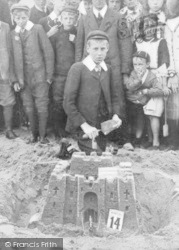 Whitley Bay, Sandcastle Competion 1908