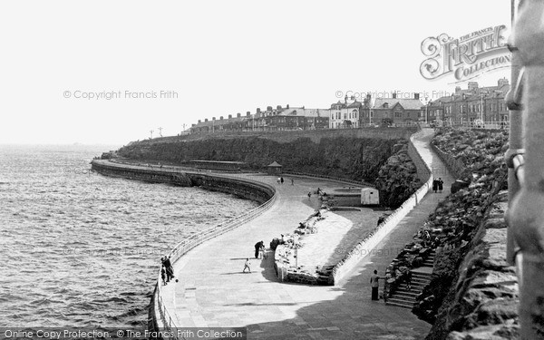 Photo of Whitley Bay, South Lower Promenade c.1955