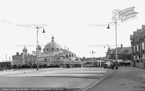 Photo of Whitley Bay, Spanish City c.1955