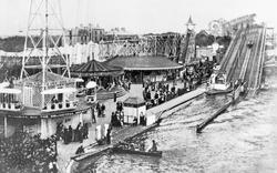 Whitley Bay, Spanish City Funfair c.1910
