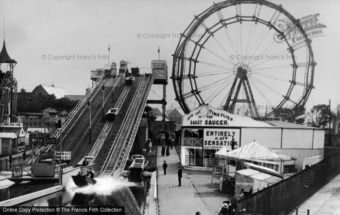 Photo of Whitley Bay, Spanish City Funfair c.1930