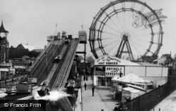Whitley Bay, Spanish City Funfair c.1930