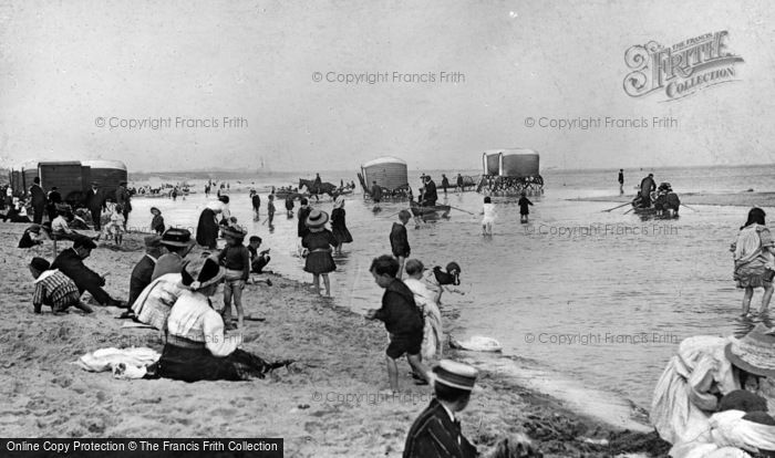 Photo of Whitley Bay, The Beach c.1910