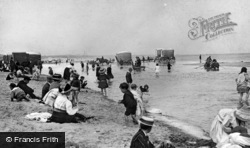Whitley Bay, The Beach c.1910