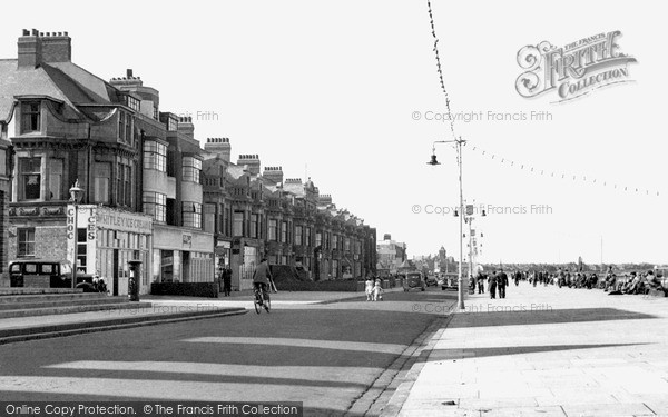 Photo of Whitley Bay, The Front c.1955