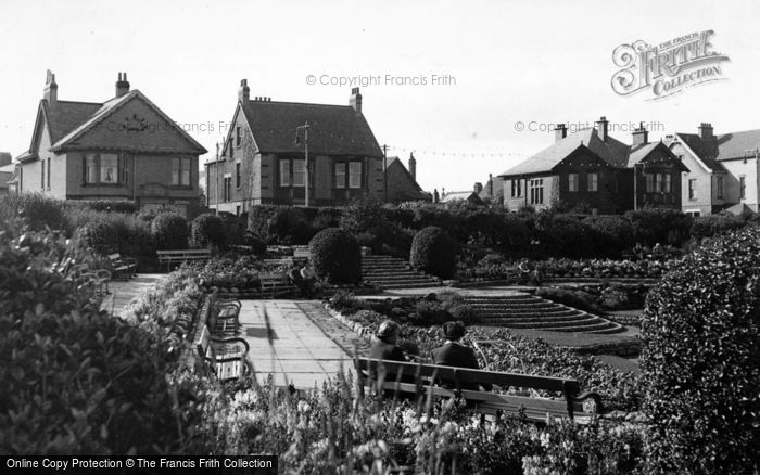 Photo of Whitley Bay, The Gardens c.1955