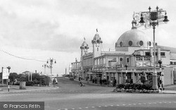 Whitley Bay, The Pleasure Gardens c.1955
