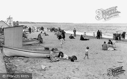 Whitley Bay, The Sands c.1955