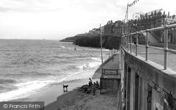 The Seafront c.1955, Whitley Bay