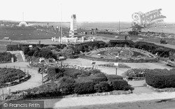 Whitley Bay, View Of The Links c.1951