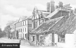 Whitley Bay, Village And Old Smithy c.1910