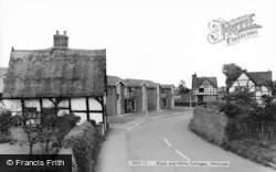 Black And White Cottages c.1960, Whitnash