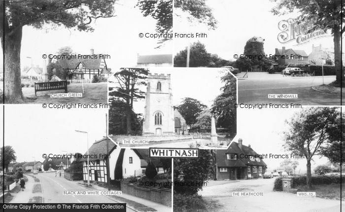 Photo of Whitnash, Composite c.1960