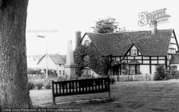 Photo of Whitnash, Cottage On Church Green c.1960
