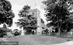 St Margaret's Church 1922, Whitnash