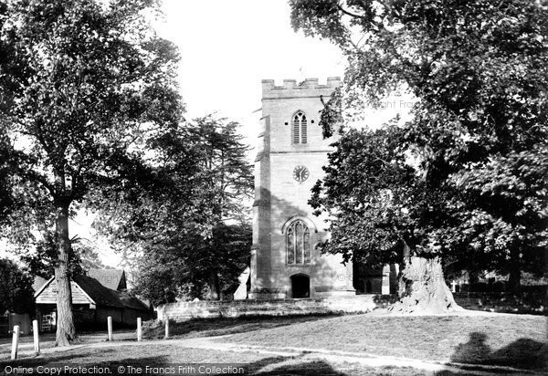 Photo of Whitnash, The Church 1892