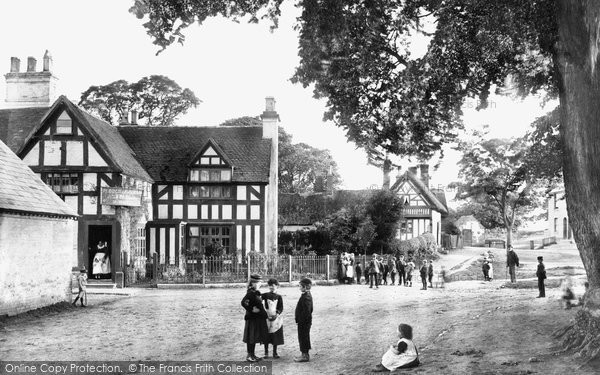 Photo of Whitnash, The Village And Plough & Harrow Inn 1892