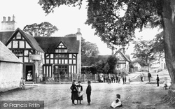 The Village And Plough & Harrow Inn 1892, Whitnash