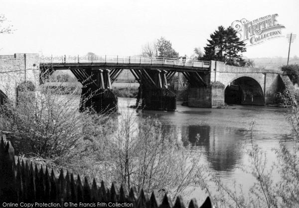 Photo of Whitney, Bridge c.1955