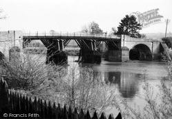 Whitney, Bridge c.1955, Whitney-on-Wye