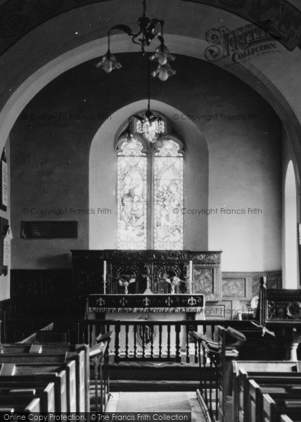 Photo of Whitney, Church Of St Peter And St Paul, Interior c.1950