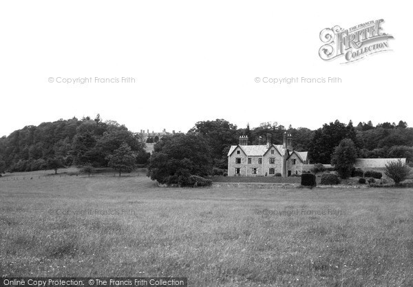Photo of Whitney, Court And Rectory c.1950