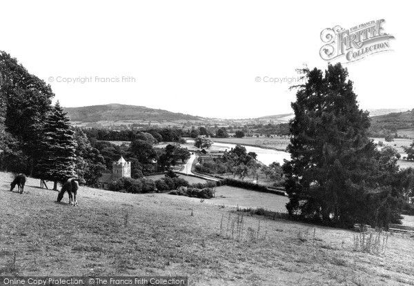 Photo of Whitney, The Church And Wye Valley c.1955