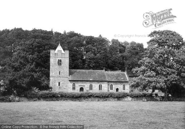 Photo of Whitney, The Church c.1950