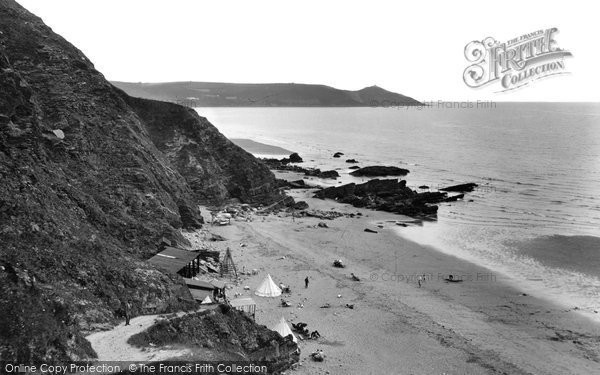 Photo of Whitsand Bay, From The Cliffs 1930