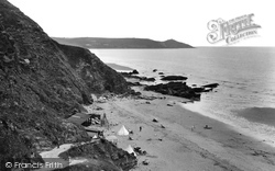 Whitsand Bay, From The Cliffs 1930
