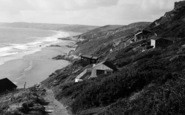 Whitsand Bay, Path down to the Beach c1955