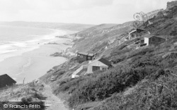 Whitsand Bay, Path Down To The Beach c.1955