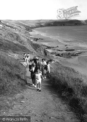 Whitsand Bay, Path To The Beach c.1955