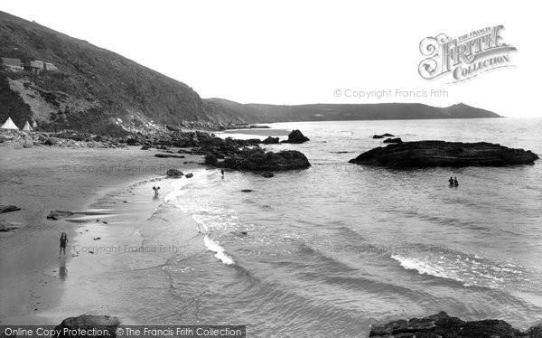 Photo of Whitsand Bay, The Beach 1930