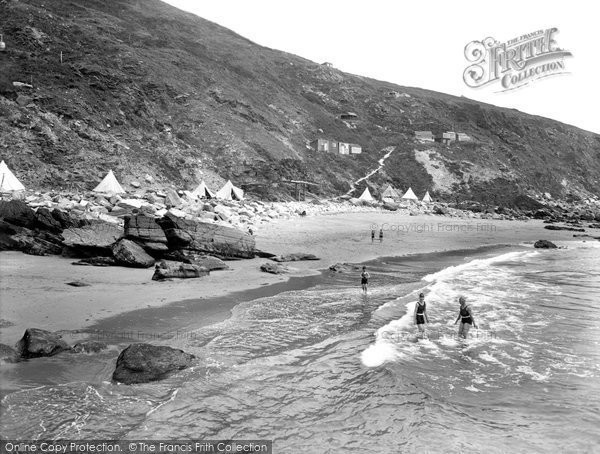 Photo of Whitsand Bay, the Beach 1930, ref. 83300