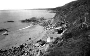Whitsand Bay, the Beach 1930